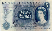 Five Pound Notes